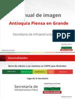 Manual de Imagen - Gobernacion de Antioquia