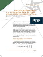RPM 77 - Propriedades dos determinantes e o clculo da rea dos tringulos.pdf