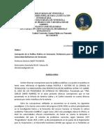 POLITICAS PUBLICAS EN VENEZUELA ANALISIS