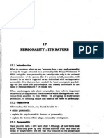 L-17 Personality Its Nature