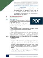 ESPC. TECNICAS - SANITARIAS