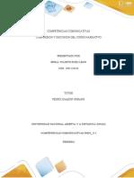 COMPETENCIAS COMUNICATIVAS unidad 1 y 2