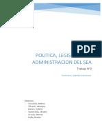 TP N°2 Política, Legislación y Administración del SEA  TP2