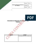 M-TH-01 PROGRAMA MEDICINA PREVENTIVA TRABAJO V1