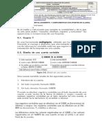 CONTABILIDAD OCTAVO, REGISTROS CONTABLES,  10-29 05 2020