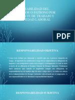 RESPONSABILIDAD DEL EMPLEDOR O PATRONO POR ACCIDENTE DE TRABAJO