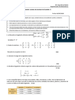 Examen álgebra GLOBAL 1