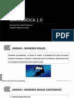 UNIDAD 1  sesión 2. Matemática 1.0.pptx