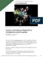 Como o Coronavírus Despertou a Inteligência Coletiva Global