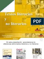 texto literario y no literario.ppt