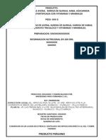 MEZCLA DE HOJUELAS AVENA,  HARINA DE QUINUA, HABA, AZUCARADA FORTIFICADA CON VITAMINAS Y MINERALES