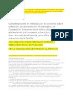 CONVENIOS DE ALIMENTOS DOS