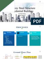 4 story steel presentation Etabs