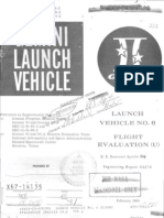 Launch Vehicle No. 6 Flight Evaluationx