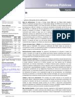 Informe sobre deuda de Mendoza elaborado por la calificadora FIX