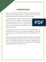 EQUIPOS RAYOS X - PRIMERA UNIDAD