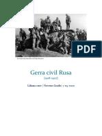 Gerra civil Rusa