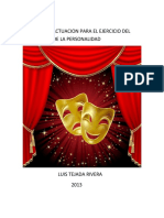 TECNICAS DE ACTUACION LUIS TEJADA