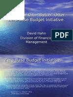 Zero Based Budget Initiative for IFOA v. 2