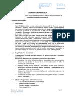 TDR PI Seguimiento Administrativo Convenios