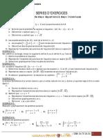 Série d'exercices N°1 - Math Systèmes de deux équations à deux inconnues - 1ère AS  (2011-2012) Mr walid