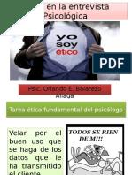 ETICA DEL PASICOLOGO