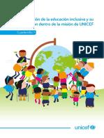 Discapacidad UNICEF