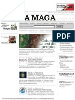 "Revista ""La Maga - Captura del sitio a setiembre de 2002"