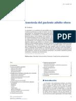 2019 Anestesia del paciente adulto obeso
