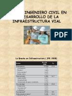 ROL DEL INGENIERO CIVIL EN EL DESARROLLO DE INFRAESTRUCTURA VIAL.pptx