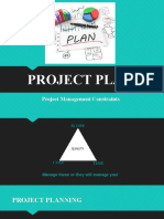 Lesson 2 - Project plan