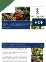 Chocolatería Clase 2 - Elaboración del Chocolate