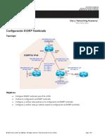 02 Act Configuración EIGRP IPv4 IPv6 Clasico Nombrado