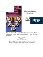 Lovecraft, Howard Phillips - Die dunkle Brüderschaft