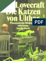 Lovecraft, Howard Phillips - Die Katzen Von Ulthar