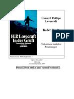 Love Craft, Howard Phillips - In Der Gruft