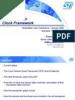 Linux Clk Framework