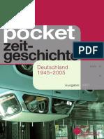 pocket  zeitgeschichte - Deutschland 1945–2005