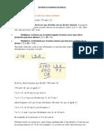 división decimales