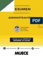 Resumen Administración I