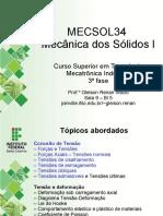 MECSOL34 Mecânica dos Sólidos I