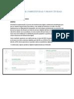 INDICADORES DE COMPETITIVIDAD Y PRODUCTIVIDAD INTERBANK