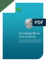 TECNOLOGIA EM en acuicultura