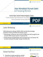 Webinar Topik Penelitian Akreditasi RS