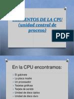 ELEMENTO DE LA CPU