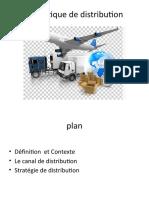 politique de la distribution