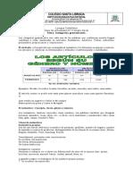 Guía N° 5 de español 6 1