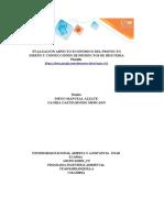 """""""Evaluación económica del proyecto sostenible""""2textilLISTASOCIAL"""