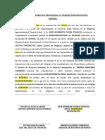 ACTAS DE REINCORPORACIÓN.