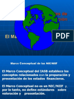 El Marco Conceptual  de las normas y NIC 1-Presentación
